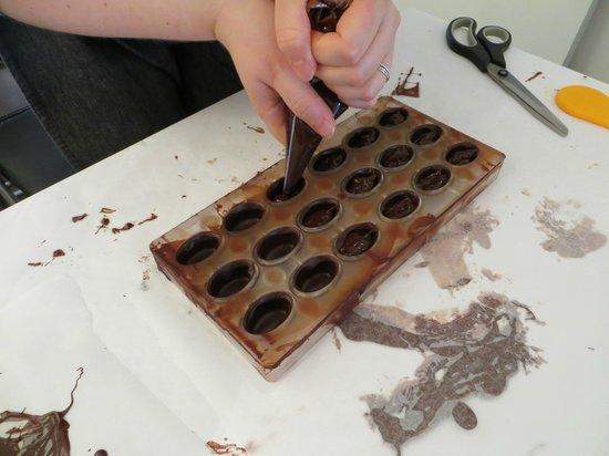 Choco Chocolate: Making pralines