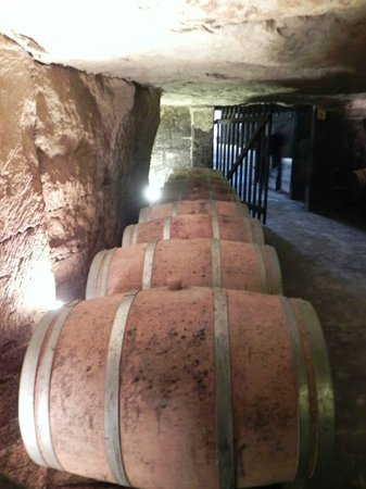 Loire Valley Uncorked: The underground caves at the Domaine