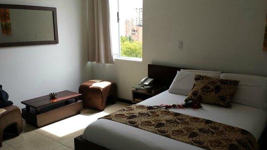 Hotel Plaza Granada: window view