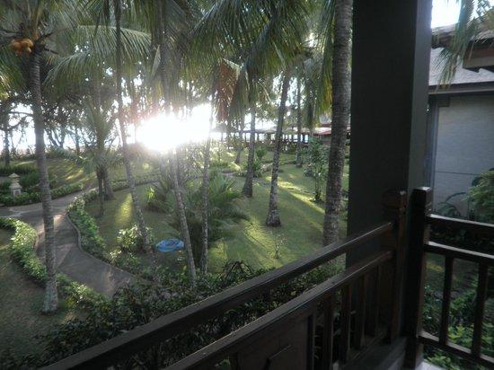 The Jayakarta Lombok, Beach Resort & Spa: View from balcony