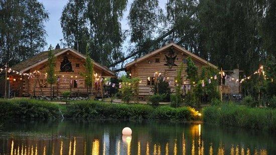 Camp Resort Europa-Park: Cabane en bois