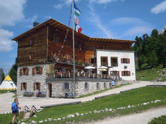 Alpe di Fanes: Utia de Fanes