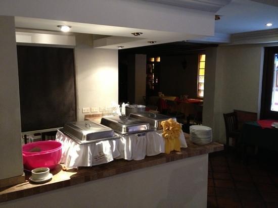 Hotel Villa Espanola: Desayuno tipo Buffet