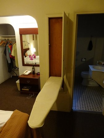 Americas Best Value Inn: funky alcove