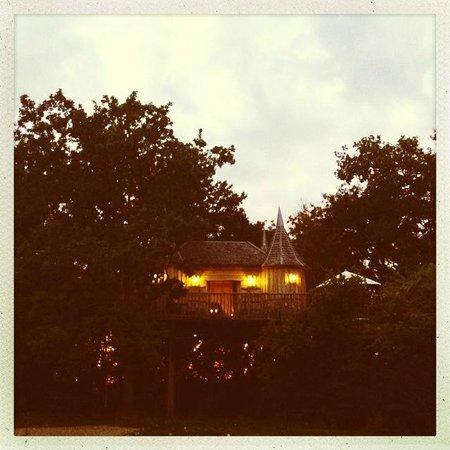 Châteaux Dans les Arbres : The Treehouse