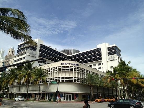 The Ritz Carlton South Beach Street View From Collins Avenue