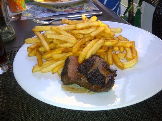 Novotel Orleans La Source : Duck & Chips