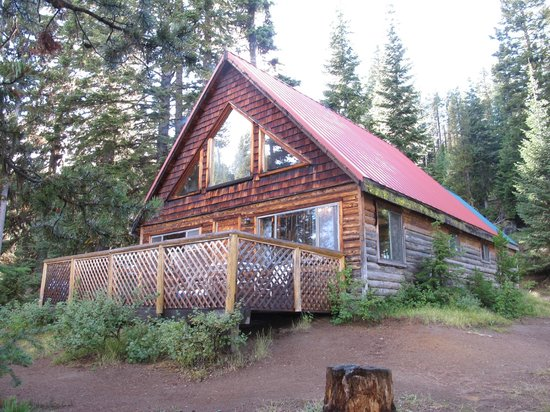 Paulina Lake Lodge: Eagle cabin - $250 night + tax!