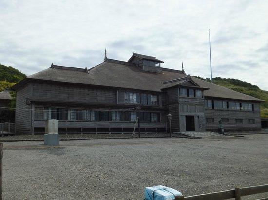 Obira-cho, اليابان: 旧花田家番屋外観。