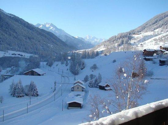 Grafschaft, Switzerland: Winter