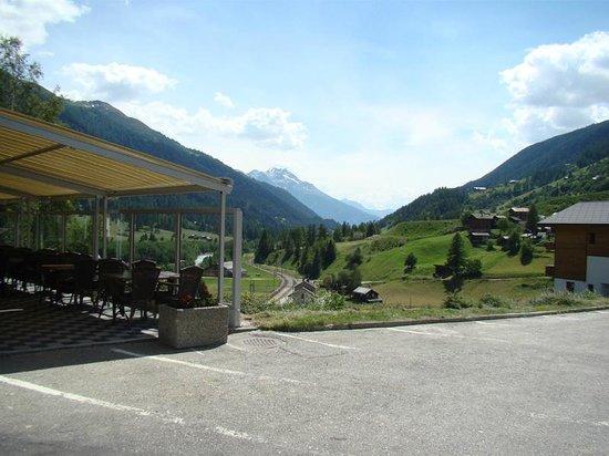 Hotel Weisshorn : Sonnen Terrasse
