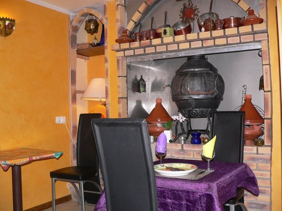 L'Arganier: Inside the restaurant