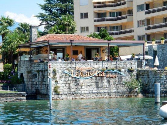 La Casetta : Ansicht vom See