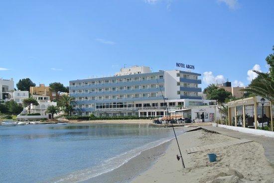 Hotel Argos : View from beach