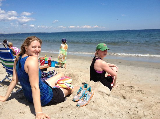 Ferry Beach State Park Soaking Up The Sun After A Run Along On