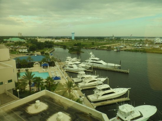 Palace Casino Resort : Overlooking the bay