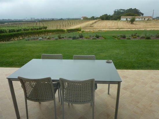 Herdades da Frupor: View from the terrasse.