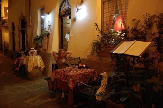 Borgovino : diner romantique