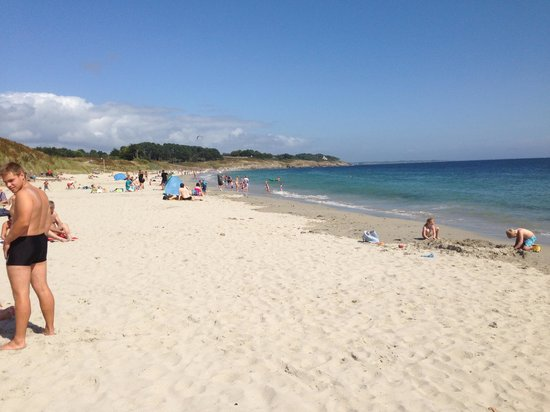 Camping International Le Raguenes Plage : Spiaggia
