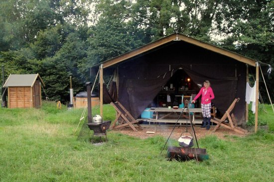 Feather Down Farms at Aller Farm: waiting for the stew to cook...