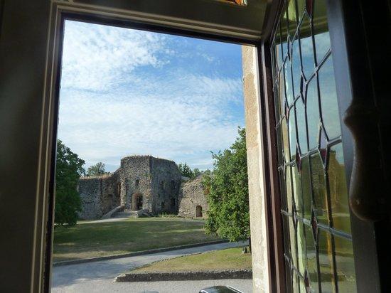 L'Hostellerie du Chateau: Vue depuis notre chambre