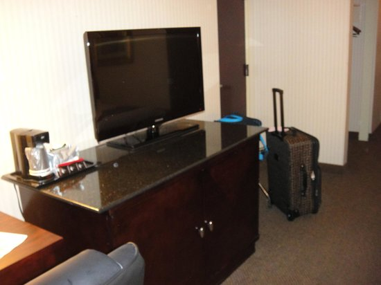 Crowne Plaza Austin: TV stand