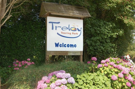 Treloy Touring Park: Welcome to Treloy!