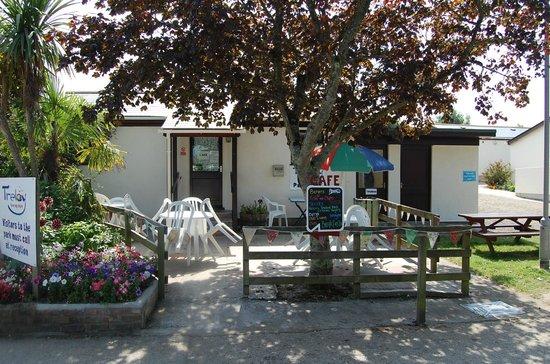 Treloy Touring Park: Cafe