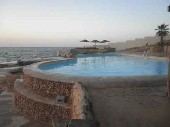 pool above the sea