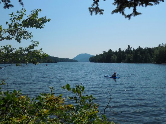 National Park Canoe and Kayak Rental: Such a relaxing day on the lake.