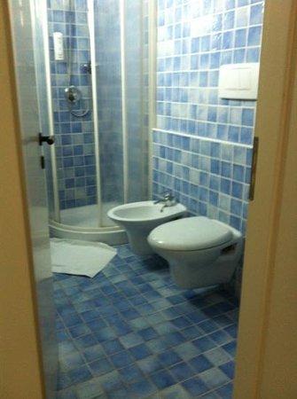 Europa Monetti: bagno camera standard