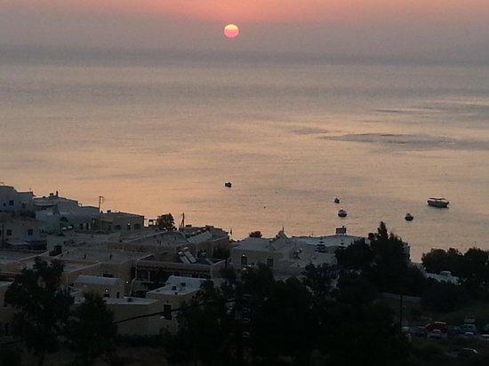Villa Anneta: sunrise from villa anetta