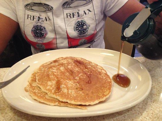Red Flame : porzione da due pancakes