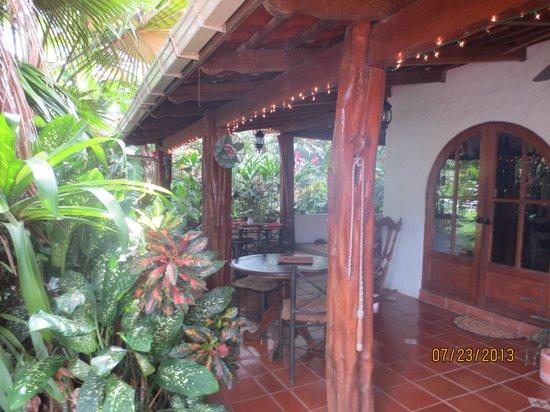 Casagua Horses Tours: Dining area