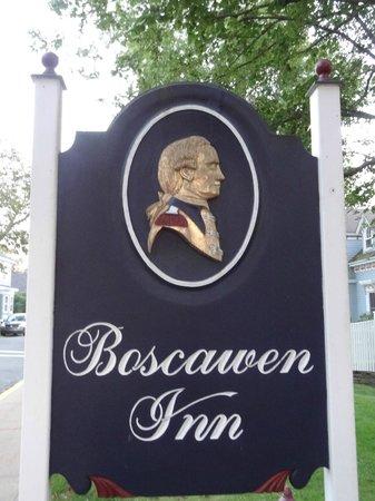 Boscawen Inn: At Entrance