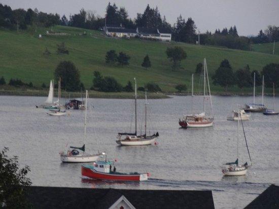 Boscawen Inn: Great Views of Harbor