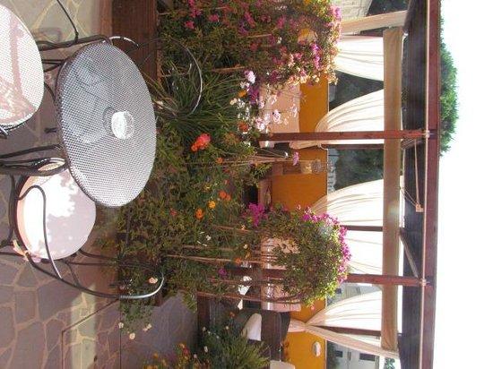 Marin Hotel: terrasse d'une chambre au rdc