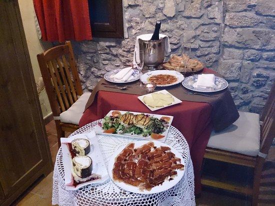 El Molí Hotel Rural: la cena