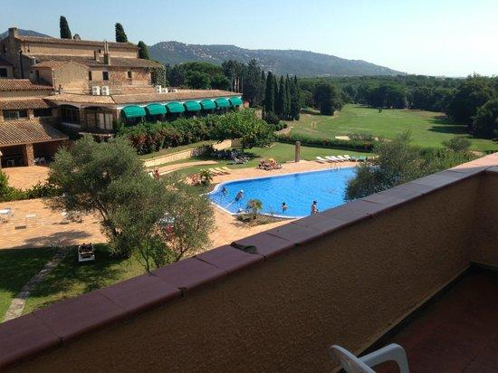 Hotel Golf Costa Brava : Vue de notre chambre