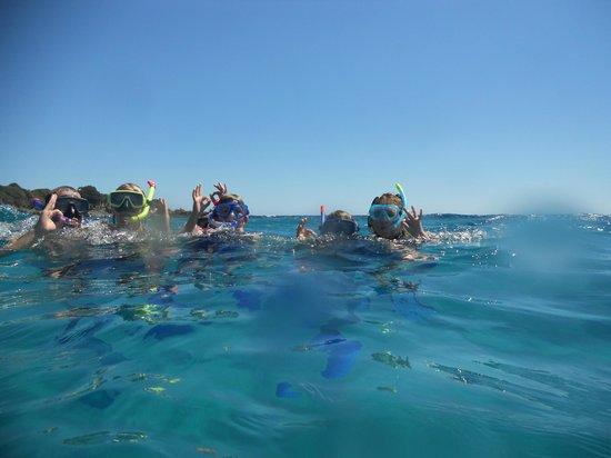 Argonauta Diving Club : Divers on surface