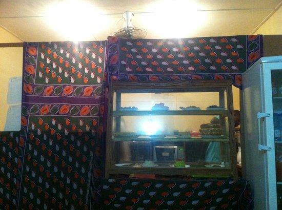 Pizzeria Kisiwa : l'interno