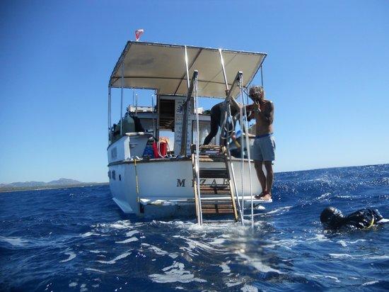 Argonauta Diving Club : the boat