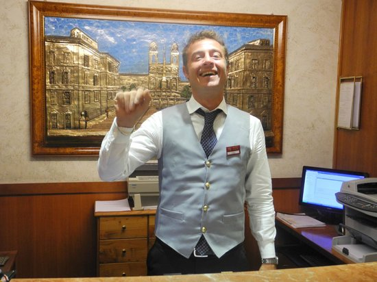 Hotel Forte: Fabio at the front desk was helpful and friendly.