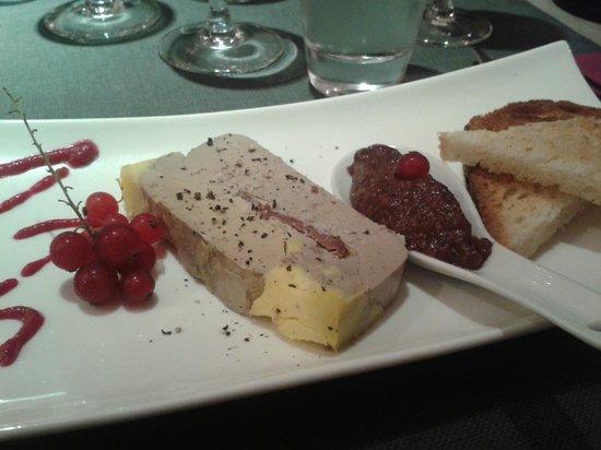 L'Ecume des Jours : foie gras