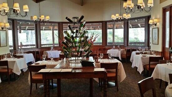 The Restaurant at Wente Vineyards : One of the indoor dining rooms.