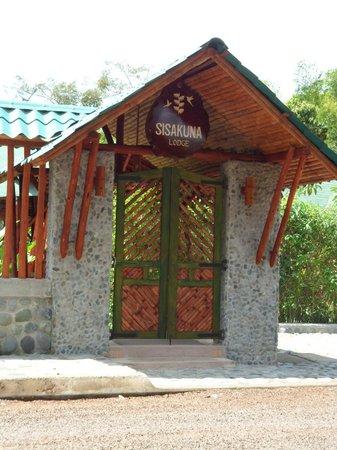 Sisakuna Lodge: Ingreso Principal