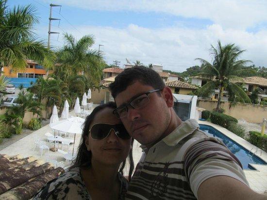 Pontal Praia Hotel: Alex & Mayra 23-08-2013