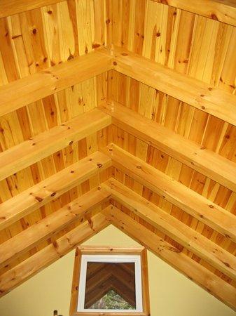 Buffalo Mountain Lodge: premier ceiling upper floor