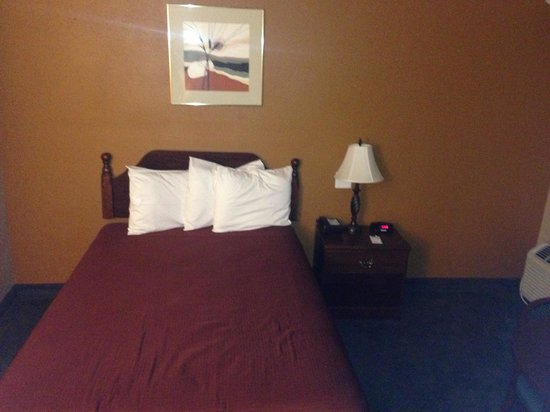 Travelodge Lakeland: Bed