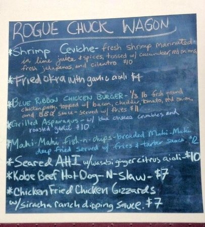 Rogue Farms Micro Hopyard : Yumminess from the Food Truck